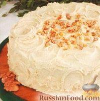 Фото к рецепту: Вкусный торт с масляным кремом