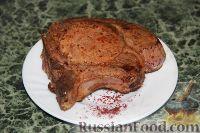 Фото к рецепту: Свинина, маринованная в гранатовом соке