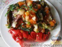 Фото к рецепту: Баклажаны квашеные, фаршированные овощами