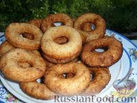 Фото к рецепту: Творожные пончики