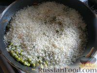 Фото приготовления рецепта: Рис с овощами на гарнир - шаг №6