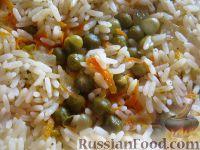 Фото приготовления рецепта: Рис с овощами на гарнир - шаг №9