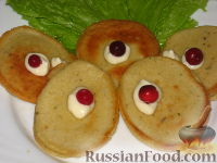 Фото к рецепту: Гороховые оладьи