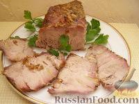 Фото к рецепту: Мясо в духовке