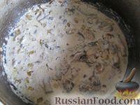 Фото приготовления рецепта: Спагетти в сливочном соусе - шаг №10