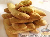 """Фото к рецепту: Бисквитные палочки (Savoiardi или """"Дамские пальчики"""")"""