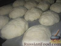 Фото приготовления рецепта: Пирожки из теста на кефире - шаг №4