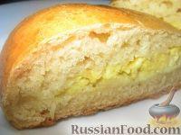 Фото приготовления рецепта: Пирожки из теста на кефире - шаг №6