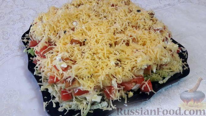 Фото приготовления рецепта: Дрожжевой пирог с картошкой, грибами и зелёным луком - шаг №16