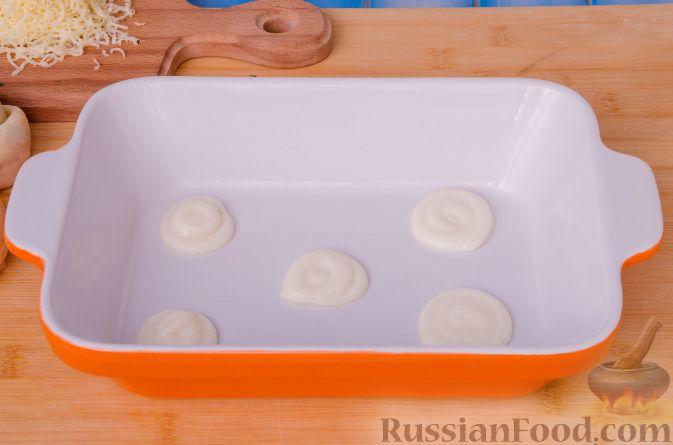 Фото приготовления рецепта: Томатный суп с яичницей-болтуньей, имбирём и острым перцем - шаг №10