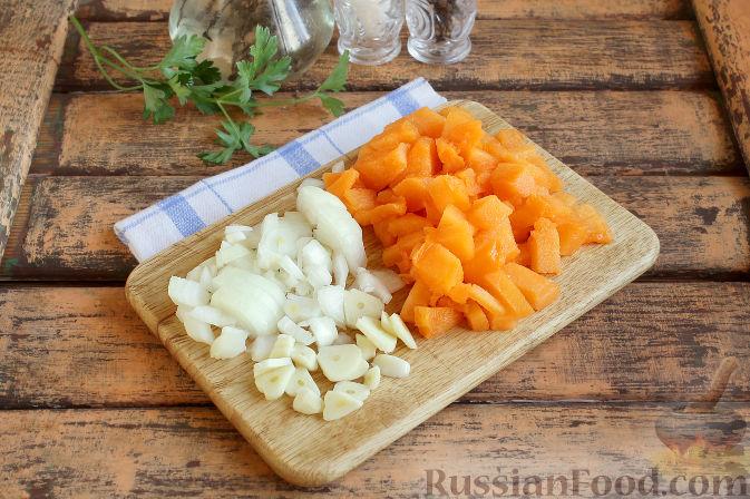 Фото приготовления рецепта: Свиная подлива с тыквой - шаг №3