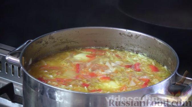 Фото приготовления рецепта: Хинкали с сыром сулугуни - шаг №5