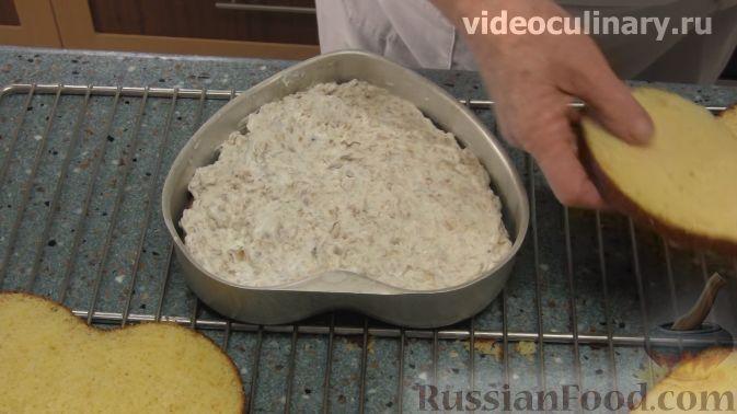 """Фото приготовления рецепта: Торт """"Любовь"""" - шаг №10"""