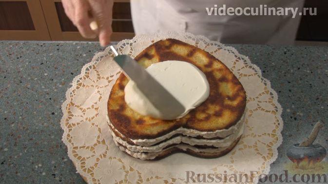 """Фото приготовления рецепта: Торт """"Любовь"""" - шаг №11"""
