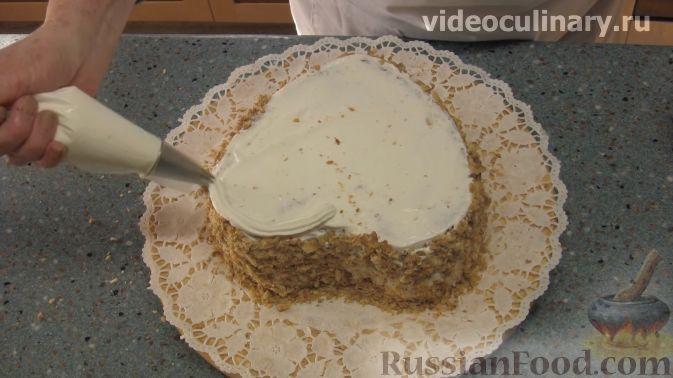 """Фото приготовления рецепта: Торт """"Любовь"""" - шаг №12"""