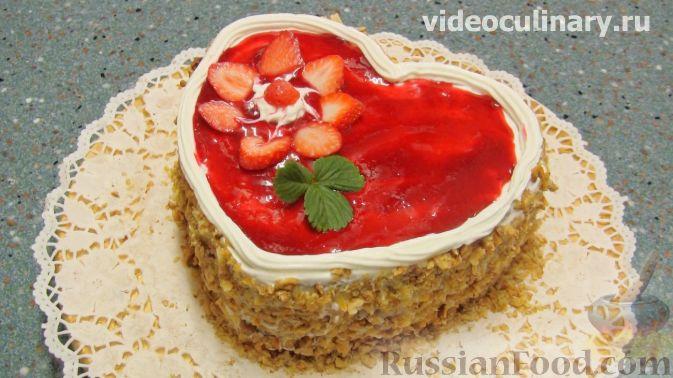 """Фото приготовления рецепта: Торт """"Любовь"""" - шаг №13"""