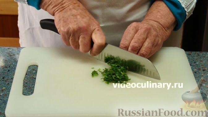 Фото приготовления рецепта: Тыквенный салат к мясу - шаг №3