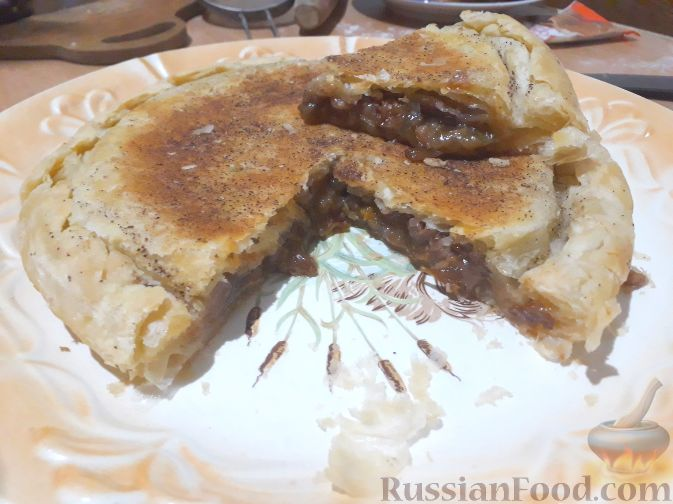 Фото приготовления рецепта: Дрожжевые булочки-завитки с грушей и корицей - шаг №19