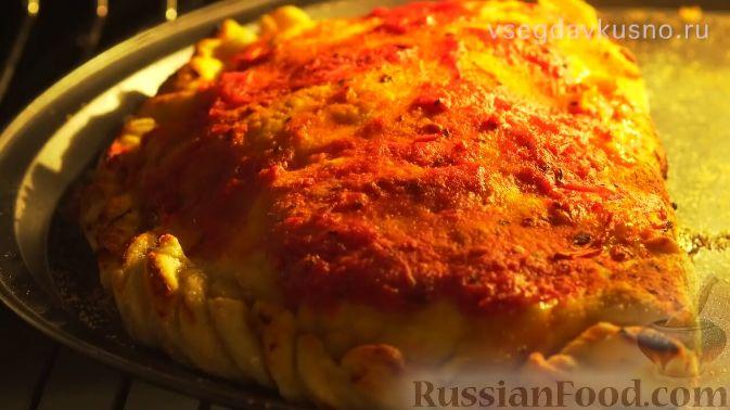 Фото приготовления рецепта: Лимонный пирог на гречневой муке - шаг №5