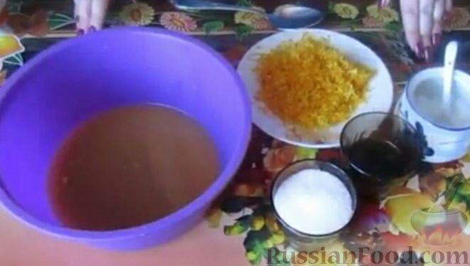 Фото приготовления рецепта: Постные апельсиновые кексы - шаг №2