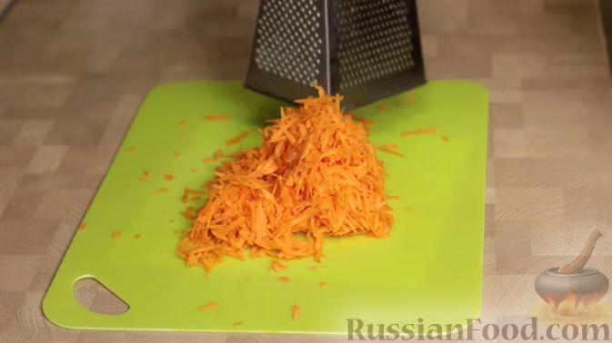 Фото приготовления рецепта: Куриный суп с картофелем и луково-мучной заправкой - шаг №14