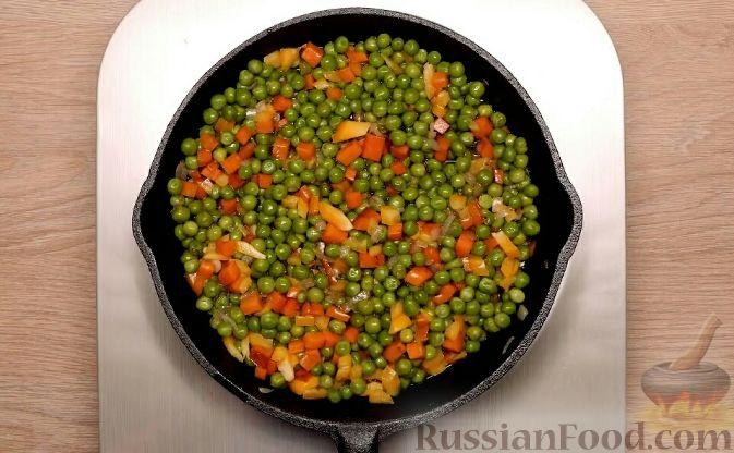 Фото приготовления рецепта: Запеканка из пекинской капусты с сыром - шаг №15