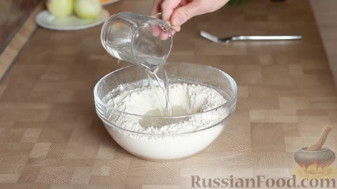 Фото приготовления рецепта: Кутабы (лепешки без дрожжей) с картофелем и тыквой - шаг №1