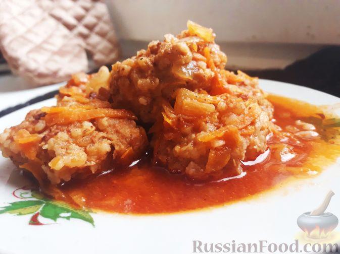тефтели в томатном соусе в мультиварке рецепт с фото