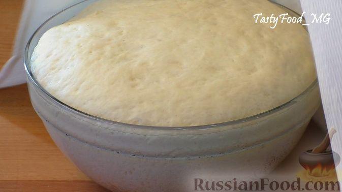 Фото приготовления рецепта: Тыквенный манник - шаг №10