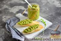 Фото к рецепту: Паста из брокколи и авокадо
