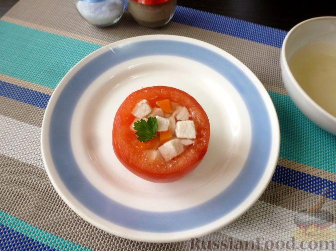 Фото приготовления рецепта: Макароны с соусом из сладкого перца - шаг №4