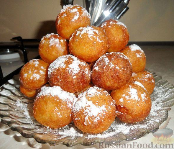 рецепт с фото пончики из творога