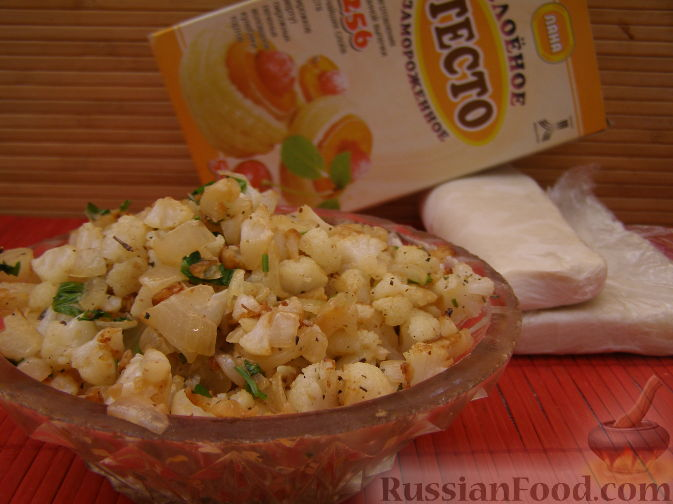 Фото приготовления рецепта: Начинка из цветной капусты - шаг №9