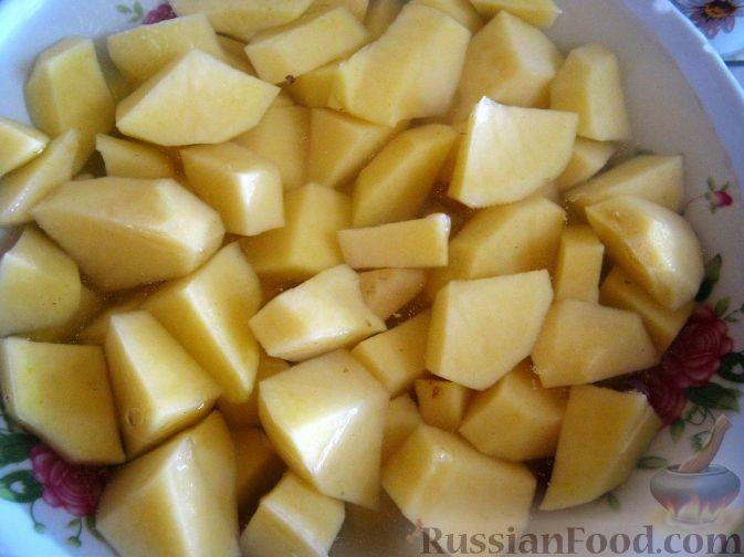 Как приготовит картошку с луком в мультиварке