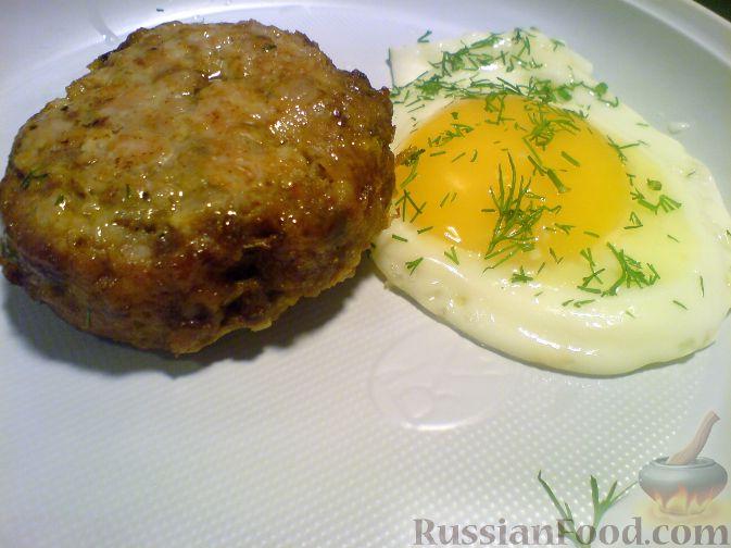 Рецепт Шницель рубленый с яйцом