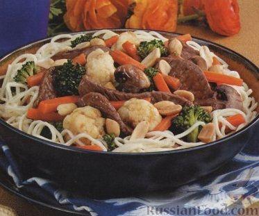 Рецепт Соус из мяса и овощей по-тайски