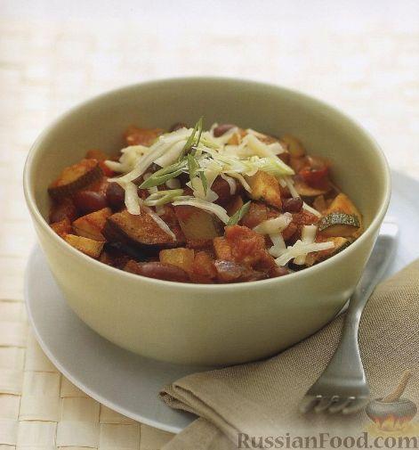 Рецепт Вегетарианское овощное рагу
