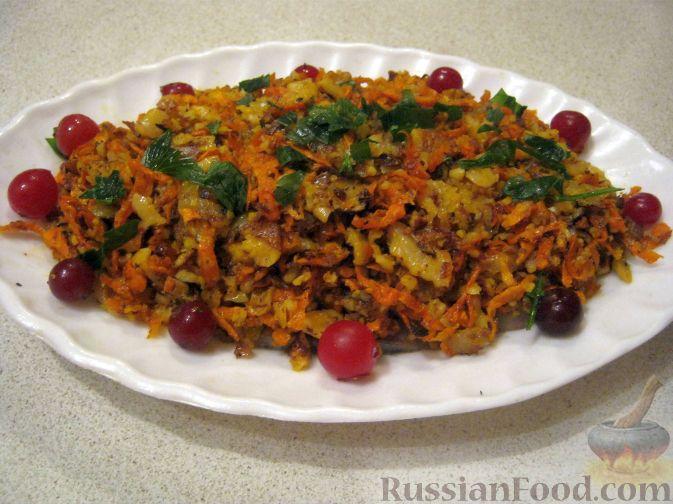 Рецепт Ароматная сельдь с морковью и луком