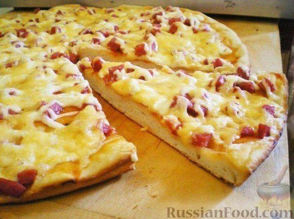 Рецепт Пицца на сковороде