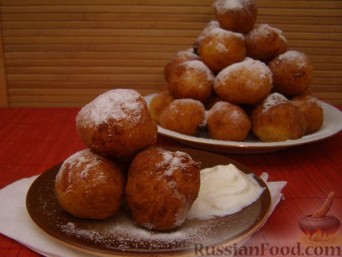 пончики из творога жареные на растительном масле рецепт