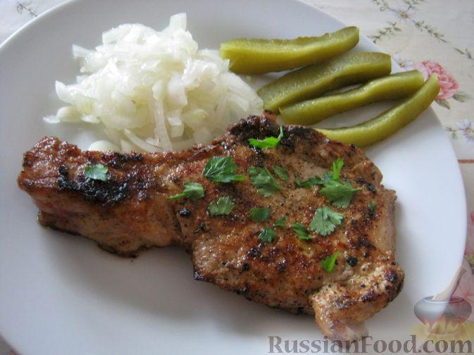 рецепт приготовления мяса на косточке на мангале