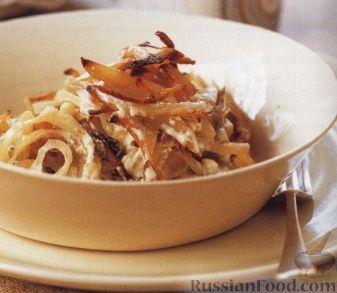 Рецепт Картофель в горшочке с луком и анчоусами