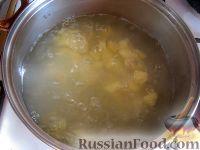 Фото приготовления рецепта: Вегетарианский постный овощной супчик с цветной капустой - шаг №3