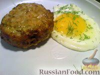 Фото к рецепту: Шницель рубленый с яйцом