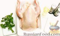 Фото приготовления рецепта: Цыпленок-табака - шаг №1