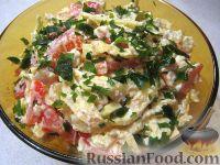 Фото к рецепту: Салат с блинчиками