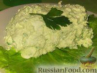 Фото к рецепту: Творог с зеленью