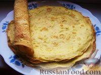 Фото к рецепту: Яичные блинчики