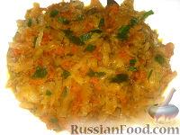 Фото к рецепту: Капуста тушеная с овощами