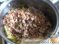 Фото приготовления рецепта: Макароны по-флотски - шаг №6